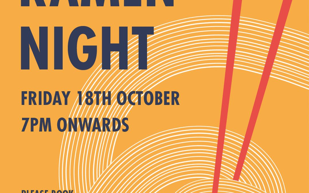 Ramen Night Poster